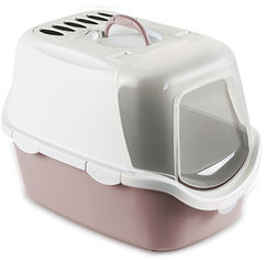 Туалет Stefanplast Cathy Easy Clean 56 х 40 х 40 см Нежно-розовый (8003507986480) от Rozetka