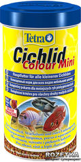 Корм Tetra Cichlid Colour Mini для аквариумных рыб в гранулах 500 мл (4004218197367) от Rozetka