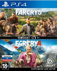 Игра Far Cry 4 + Far Cry 5 (PS4,Русскаяверсия) от MOYO