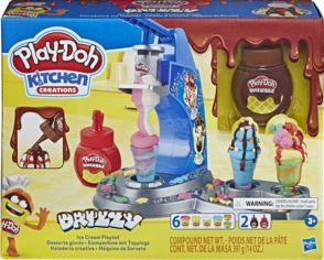 Акция на Игровой набор Hasbro Play-Doh Мороженое с глазурью (E6688) от Rozetka