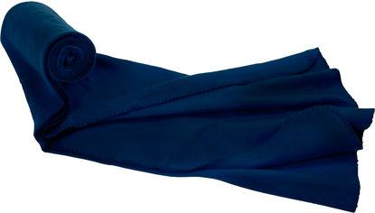 Плед туристический Easy Gifts флисовый Темно-синий (2000992393447) от Rozetka