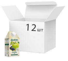 Упаковка сока Galicia Яблочно-черничный прямого отжима неосветленный 0.5 л х 12 шт (4820151001468_4820209560770) от Rozetka