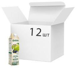 Упаковка сока Galicia Яблочно-черничный прямого отжима неосветленный 1 л х 12 шт (4820209560763) от Rozetka