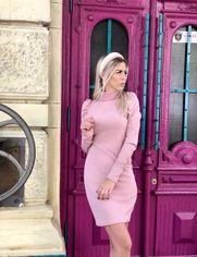 Платье Desire 217 42-44 Пудровое (2000000387758) от Rozetka