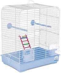 Акция на Клетка для птиц Природа Белла 37 х 25 х 37 см Светло-голубая (4823082415038) от Rozetka