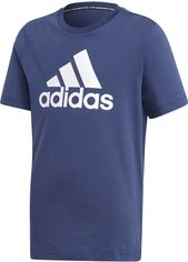 Футболка Adidas Must Haves Badge Of Sport FM6452 128 см Tech Indigo (4062049052347) от Rozetka