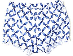 Шорты H&M 6012057 80 см Бело-синие (hm01767234303) от Rozetka