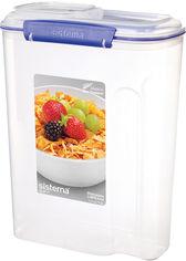 Емкость для хранения сыпучих продуктов Sistema Klip It Blue 4.2 л (1450) от Rozetka