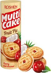 Упаковка печенья-сэндвич Roshen Multicake с начинкой вишня-кокос 195 г х 28 шт (4823077622915) от Rozetka