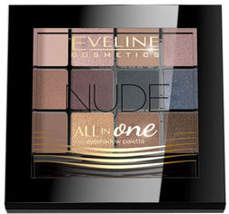 Палетка теней для век Eveline All In One 1-Nude 12 г (5901761936896) от Rozetka