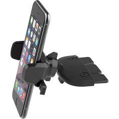 Держатель в машину iOttie One Touch Mini CD Slot Universal Car Mount (Black) HLCRIO123RT от Citrus