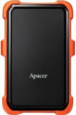 "Акция на Жорсткий диск Apacer AC630 1TB 5400rpm 8MB AP1TBAC630T-1 2.5"" USB 3.1 External Orange от Територія твоєї техніки"