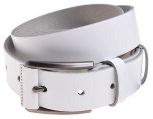 Акция на Мужской ремень кожаный Sergio Torri 8-0070 115-120 см Белый (2000000015019) от Rozetka