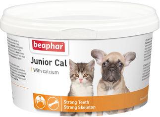 Минеральная смесь Beaphar Junior Cal для щенков и котят 200 г (10321) (8711231103218) от Rozetka