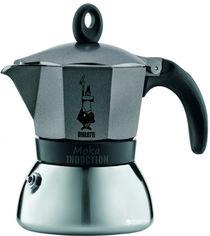 Акция на Гейзерная кофеварка Bialetti Moka E 405 мл (4879) от Rozetka