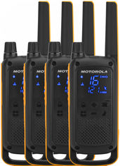 Рация Motorola Talkabout T82 Extreme Quad Pack WE (B8P00811YDEMAQ) от Rozetka