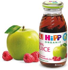 Упаковка яблочно-малинового сока HiPP органического 200 мл х 6 шт (9062300413981) от Rozetka