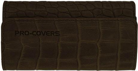 Мужская ключница кожаная Pro-Covers PC03810035-01 Темно-коричневая (2503810035012) от Rozetka
