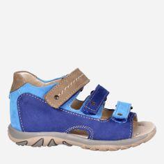 Акция на Сандалии кожаные Irbis 889 25 (16.9 см) Blue от Rozetka