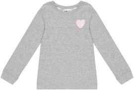 Пижамная футболка с длинными рукавами H&M 96237658 92 см Серая (hm08400688325) от Rozetka