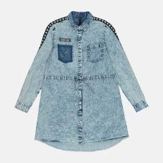 Платье джинсовое Reporter Young 201-0224G-07-000 146 см Синее (5900703641317) от Rozetka