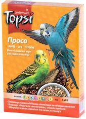 Упаковка корма Topsi Просо для волнистых попугаев 550 г 16 шт (14820122208213) от Rozetka