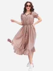 Платье ISSA PLUS 11632 L Бежевое (2000294650590) от Rozetka