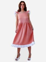Акция на Платье ISSA PLUS 11646 S Персиковое (2000304348066) от Rozetka