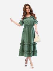 Платье ISSA PLUS 11596 S Хаки (2000294650538) от Rozetka