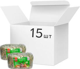 Акция на Упаковка корма для грызунов Topsi Сено луговое 300 г 15 шт (14820122203652) от Rozetka