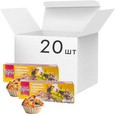 Упаковка корма для грызунов Topsi Корзинки ореховые 20 шт 45 г (14820122208619) от Rozetka