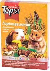 Упаковка корма для грызунов Topsi Ореховое меню 510 г 16 шт (14820122208251) от Rozetka