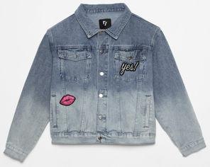 Джинсовая куртка Reporter Young 201-0889G-01-000 152 см Синяя (5900703620183) от Rozetka