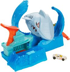 """Игровой набор Hot Wheels Голодная Акула-робот из серии """"Измени цвет"""" (GJL12) от Rozetka"""