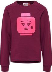 Акция на Свитшот Lego Wear LWSIMONE 757-383 140 см Бордовый (5700067766752) от Rozetka