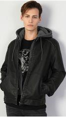 Акция на Куртка из искусственной кожи Colin's CL1047272BLK S (8682240078425) от Rozetka