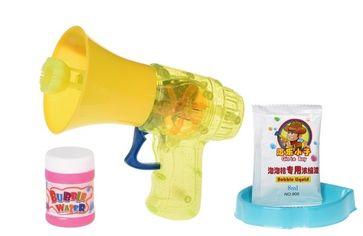 Мыльные пузыри Same Toy Bubble Gun Рупор со светом желтый (925AUt-1) от MOYO