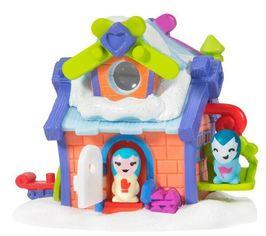 """Акция на Игровая фигурка Nanables Small House Зимняя страна чудес, Лыжный домик """"Тайник"""" от MOYO"""