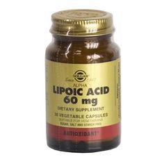 Альфа-липоевая кислота (Lipoic Acid) Солгар №30 от Medmagazin