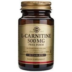 Жиросжигатель L-Карнитин (L-Carnitine) 500 мг Solgar №30 от Medmagazin