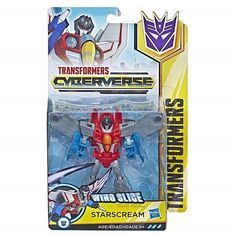 Transformers Hasbro Трансформеры Кибервселенная: фигурка 14 см Cyberverse Warrior Bania (E1884_E1902) от Stylus