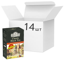 Упаковка чая черного листового Ahmad Tea Классический 100 г х 14 шт (0054881115674) от Rozetka