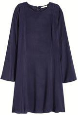 Платье H&M 4311014 38 Темно-синее (hm00290243796) от Rozetka
