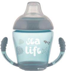 Кружка Canpol babies непроливайка с мягким силиконовым носиком Sea Life серая 230 мл (56/501_grey) от Rozetka