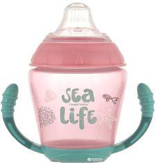 Кружка Canpol babies непроливайка с мягким силиконовым носиком Sea Life розовая 230 мл (56/501_pin) от Rozetka
