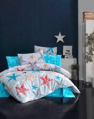 Акция на Комплект постельного белья LightHouse Colored Stars 4 сезона Ранфорс 160х220 см / 50х70 см х 1 шт (2200000551467) от Rozetka