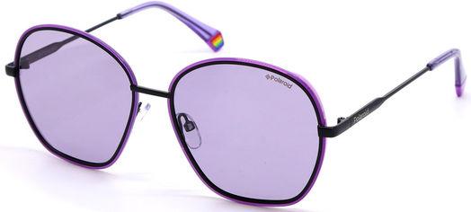 Солнцезащитные очки женские Polaroid PLD PLD 6113/S B3V56KL Черно-фиолетовые (716736238005) от Rozetka
