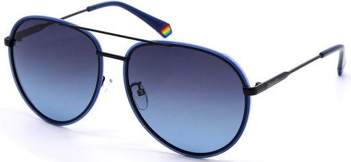 Солнцезащитные очки мужские Polaroid PLD PLD 6116/G/S PJP61WJ Черно-синие (716736238968) от Rozetka