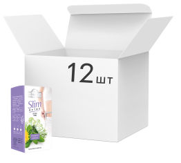 Упаковка чая травяного пакетированного Ahmad Tea Детокс Слим 12 шт по 20 пакетиков (0054881118231) от Rozetka