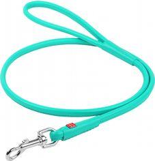 Акция на Поводок для собак кожаный Collar WAUDOG Glamour круглый, XS, Д 8 мм, Дл 122 см (337713) от Rozetka